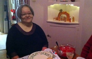 Gravely Disabled - Teresa in her kitchen small